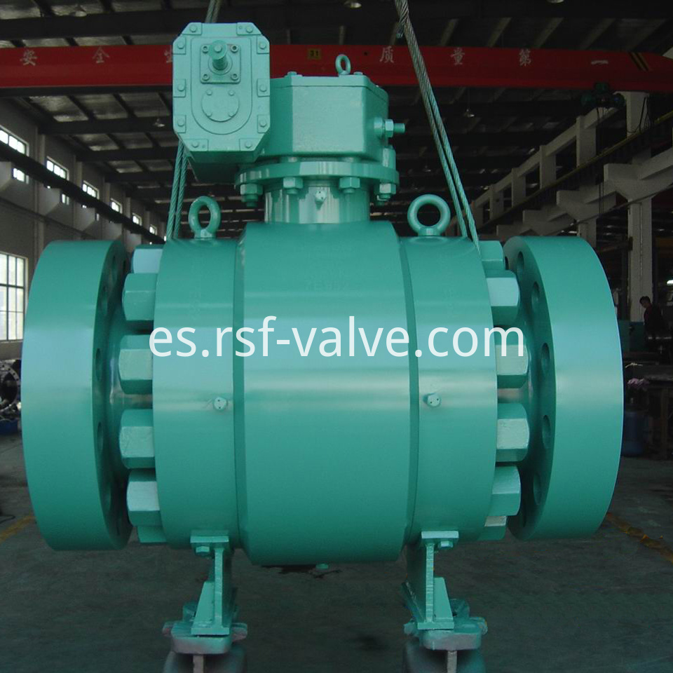 Trunnion Mounted Ball Valve Class2500 1